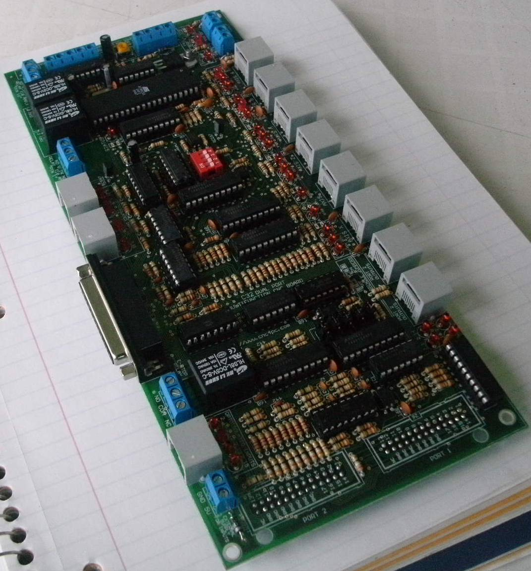 breakoutboards c32 dual port multifunction cnc board 34