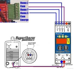 cnc machine wiring diagram symbols plasma cutting : compact thc 150 cnc thc wiring diagram