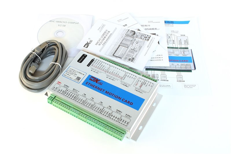 XHC Controller 3 Axle for MACH3 ETHERNET
